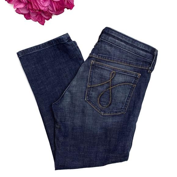 Juicy Couture Denim - JUICY COUTURE Cropped Capri Denim Jeans 26